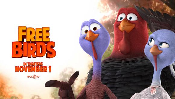 Free Birds Movie 2013